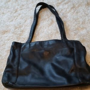 💎3 for $30💎 Large LEATHER black tote